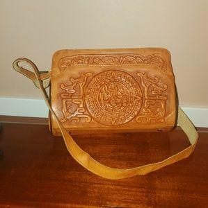 Handbags - Vintage Mexican Leather Purse